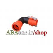 زانو پلي اتيلني 75 -90درجه اتصال سريع پكينگي يكسر نر يكسر ماده ABAone ^