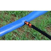 شيلنگ نخدار لوله لي فلت جنس PVC قطر 2 in فشار 4 bar